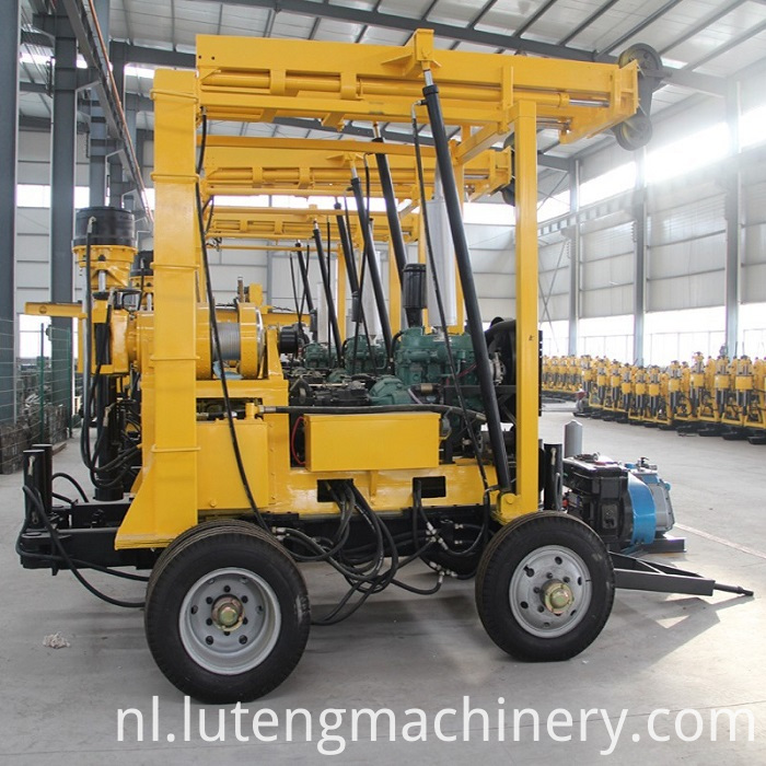 Water Well Core Drilling Rig Machine